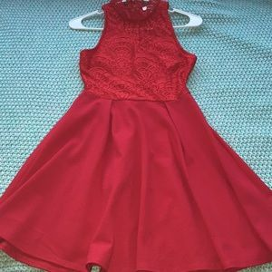 Red Dress from Francesca's (Never Worn)